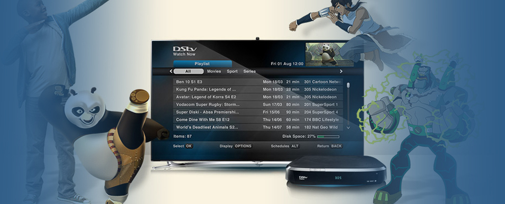 DSTV Installations Tableview